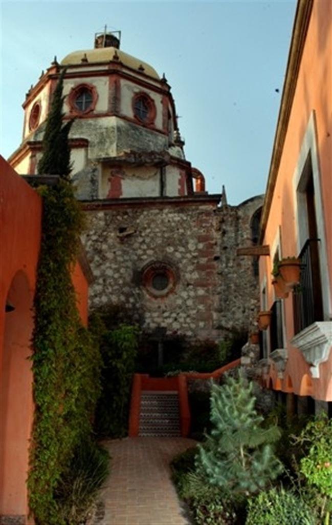 бутик отель в сан мигель де-альенде casa rosada