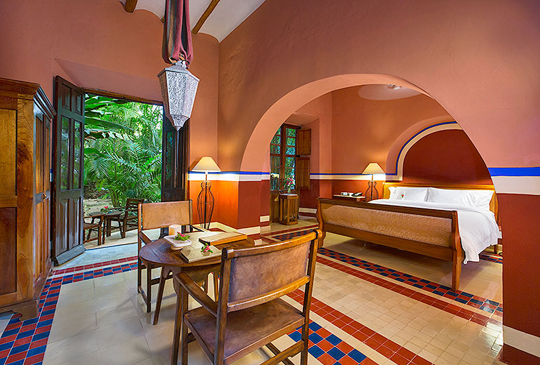 Hacienda San Jose, boutique hotel mexico