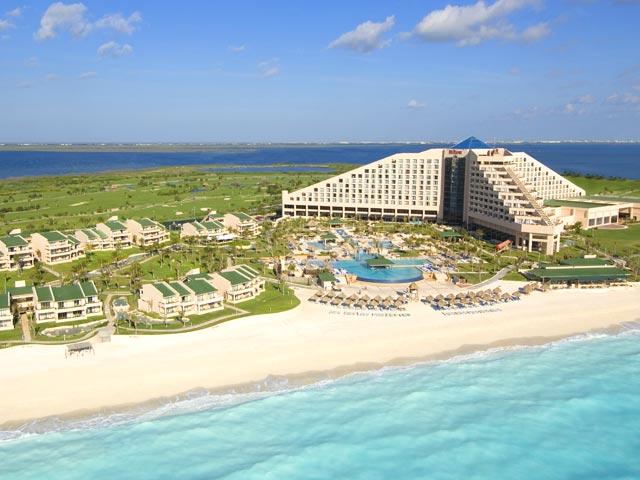 Iberostar Cancun aerial