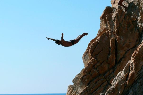 прыгуны с утеса акапулько
