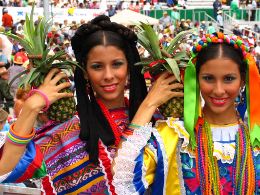 ГЕЛАГЕТЦА, фестиваль Оахака