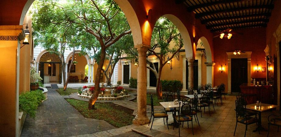 La Mision de Fray Diego, бутик отель мерида, бутик отель в мексике