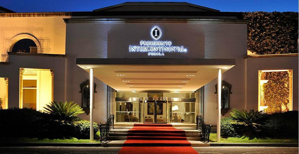Presidente Intercontinental Puebla, отель пуэбла