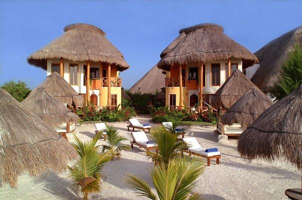 Villas HM Paraiso del Mar, отель на острове мексика, отель хольбош